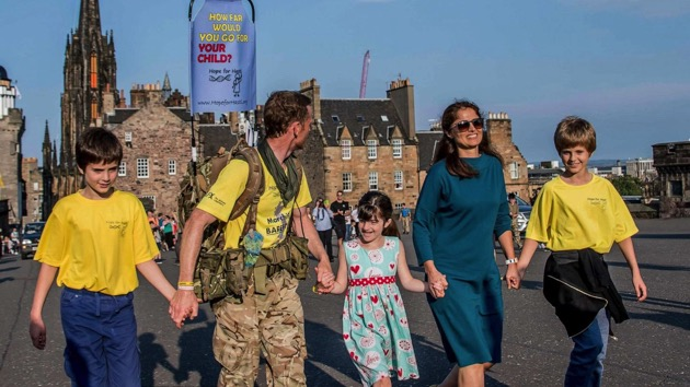 dad-walking-1,200-miles-to-fund-research-for-daughter's-treatment