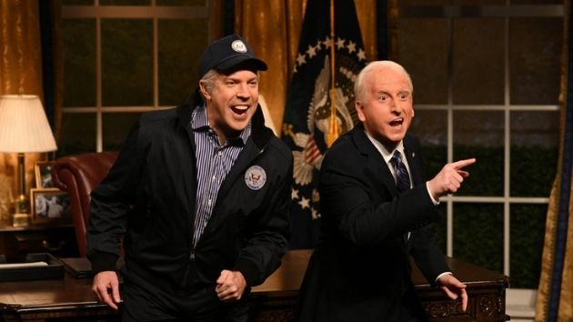 """jason-sudeikis-resurrects-""""the-ghost-of-biden-past""""-in-'snl'-hosting-debut"""